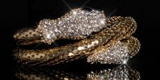 Bracelet Snake Rhinestone