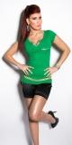 KouCla T-Shirt Rhinestones